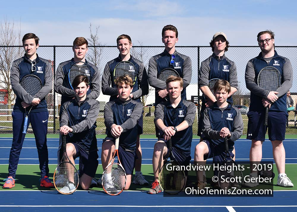 Grandview Tennis Team