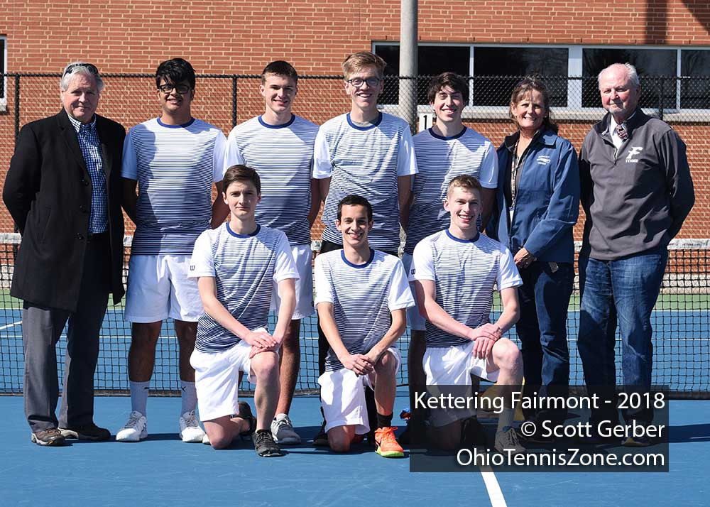 Kettering Fairmont Tennis Team