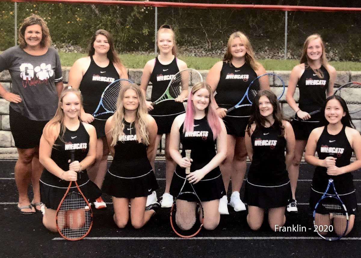 Franklin Tennis Team