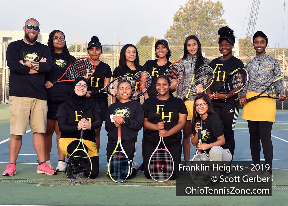 Franklin Heights Tennis Team