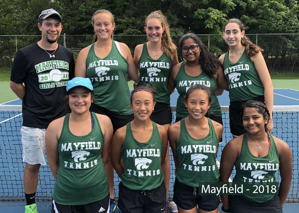 Mayfield Tennis Team
