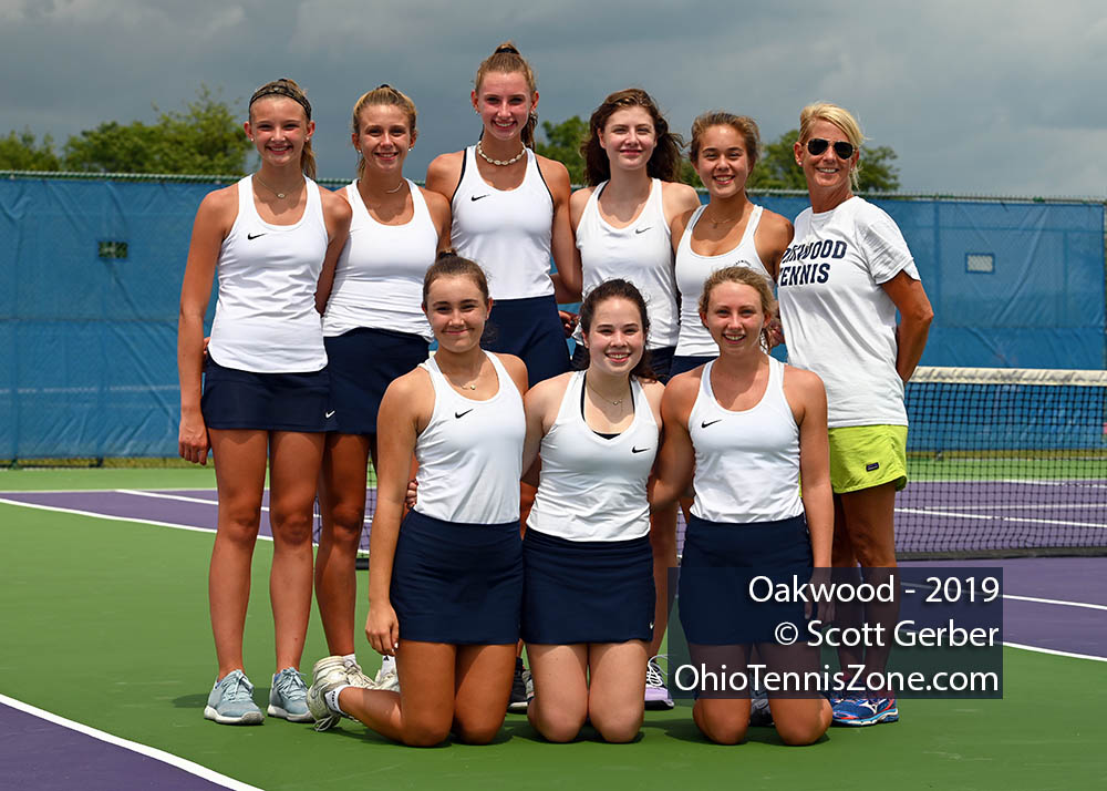 Oakwood Tennis Team