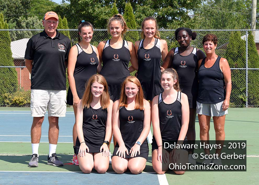 Delaware Hayes Tennis Team