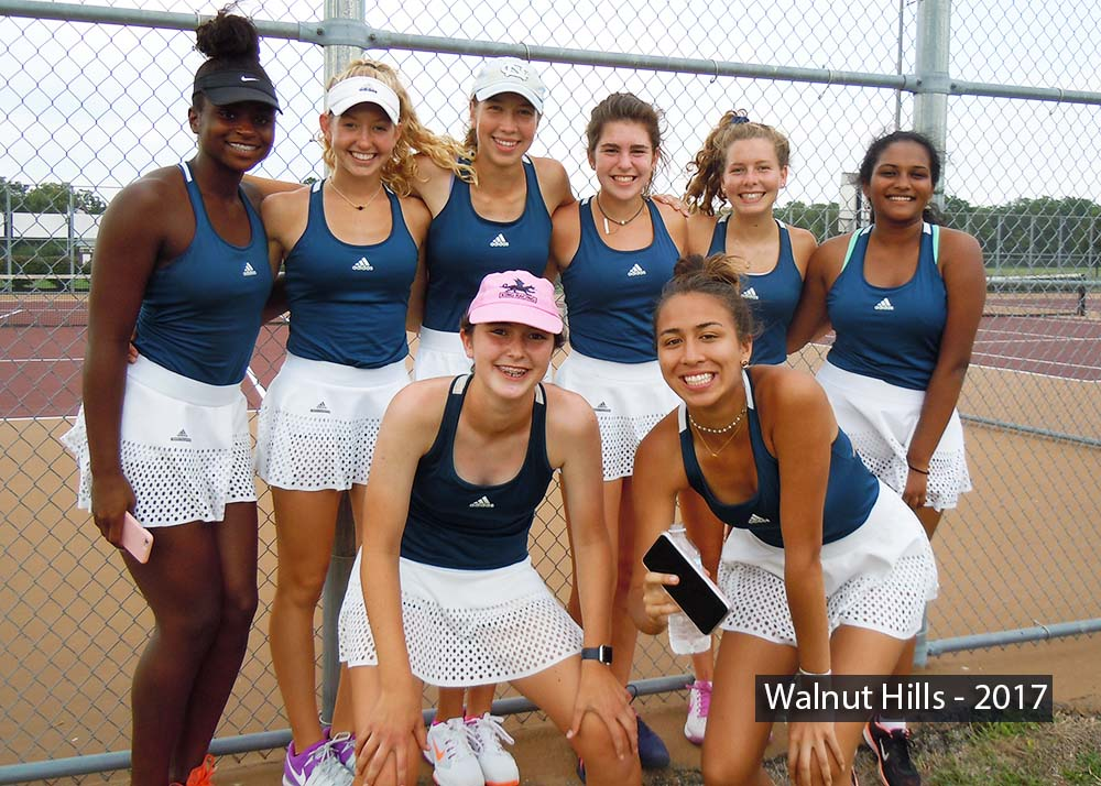Walnut Hills Tennis Team