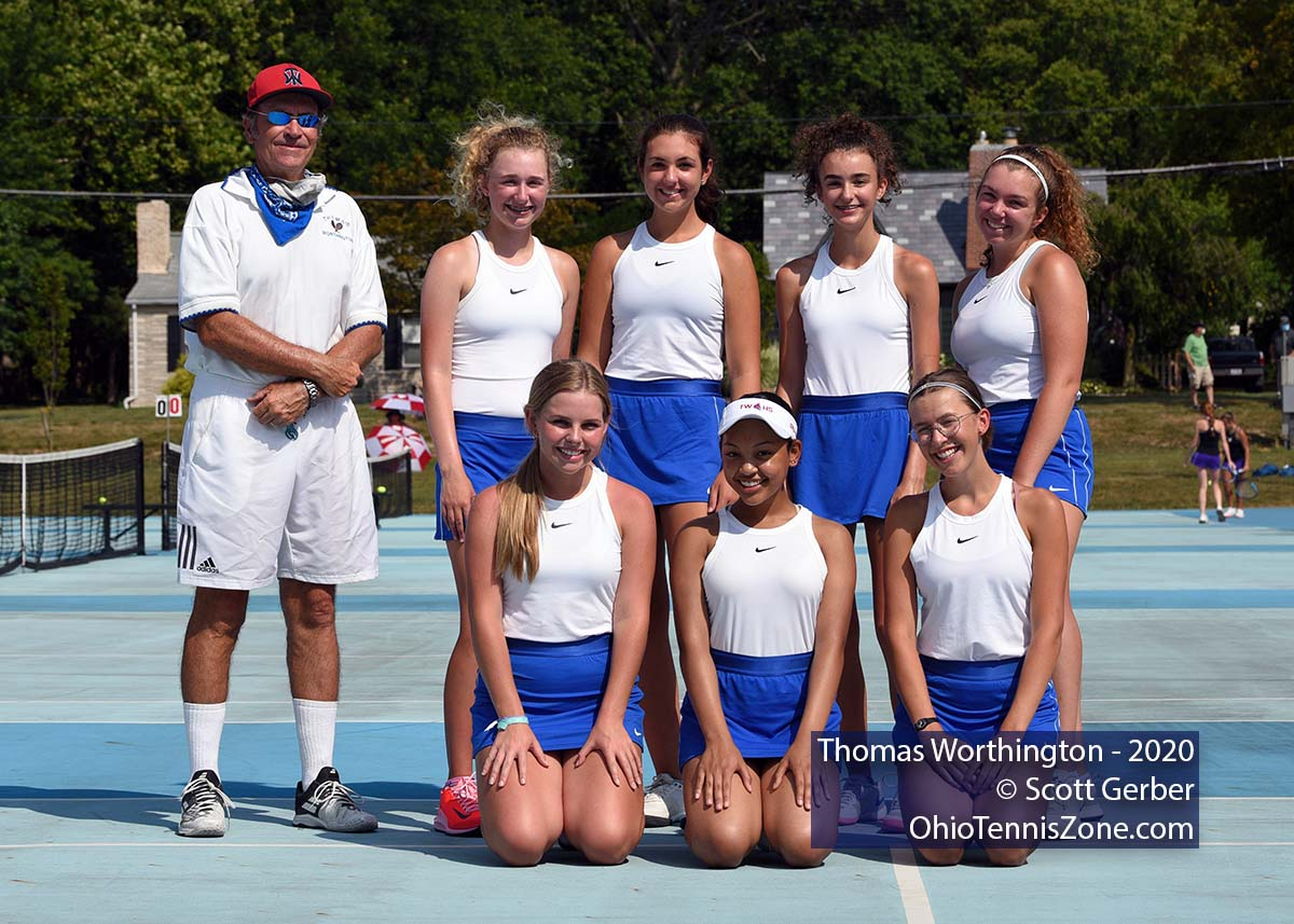 Thomas Worthington Tennis Team