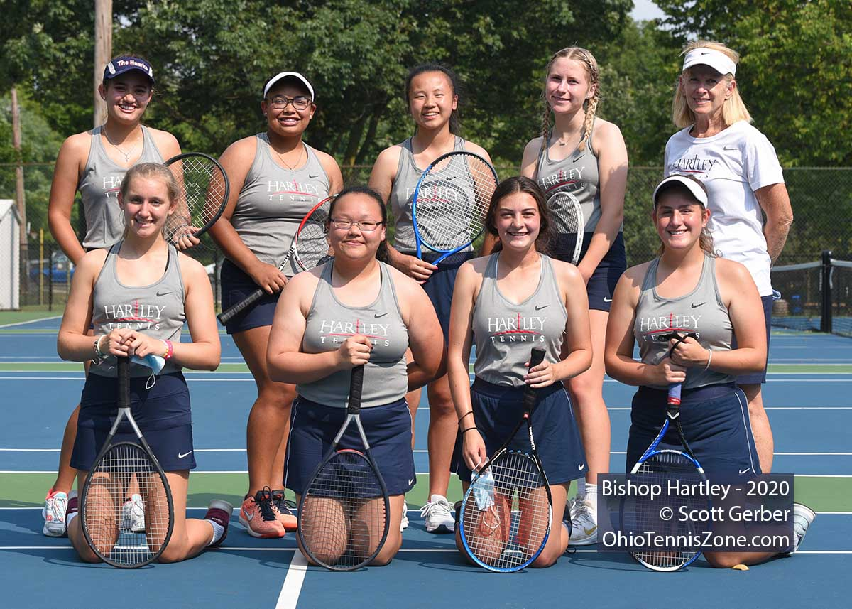Hartley Tennis Team