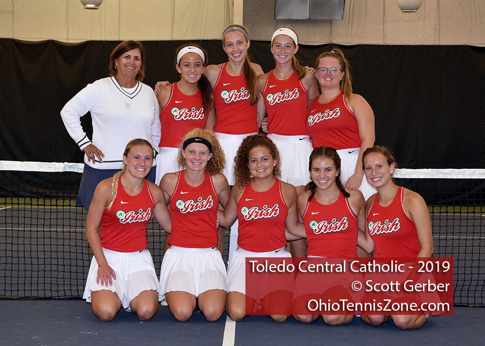 Toledo Central Catholic Tennis Team