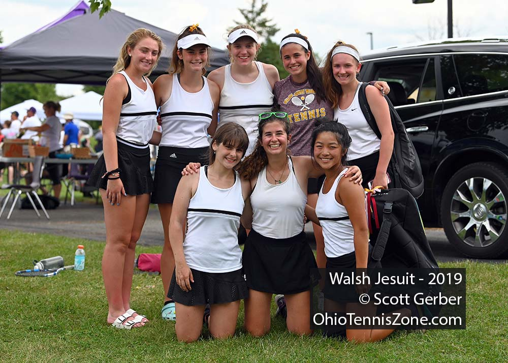 Walsh Jesuit Tennis Team