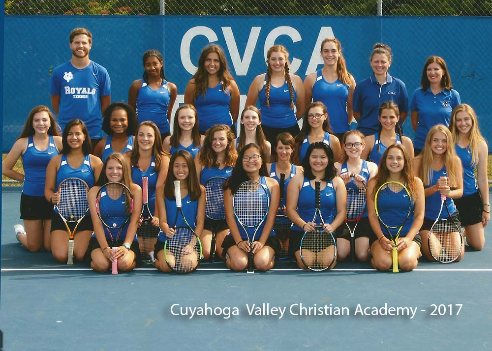Cuyahoga Valley Christian Academy Tennis Team