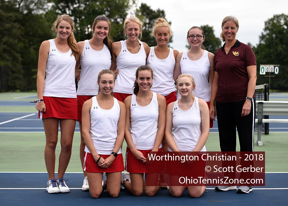 Worthington Christian Tennis Team
