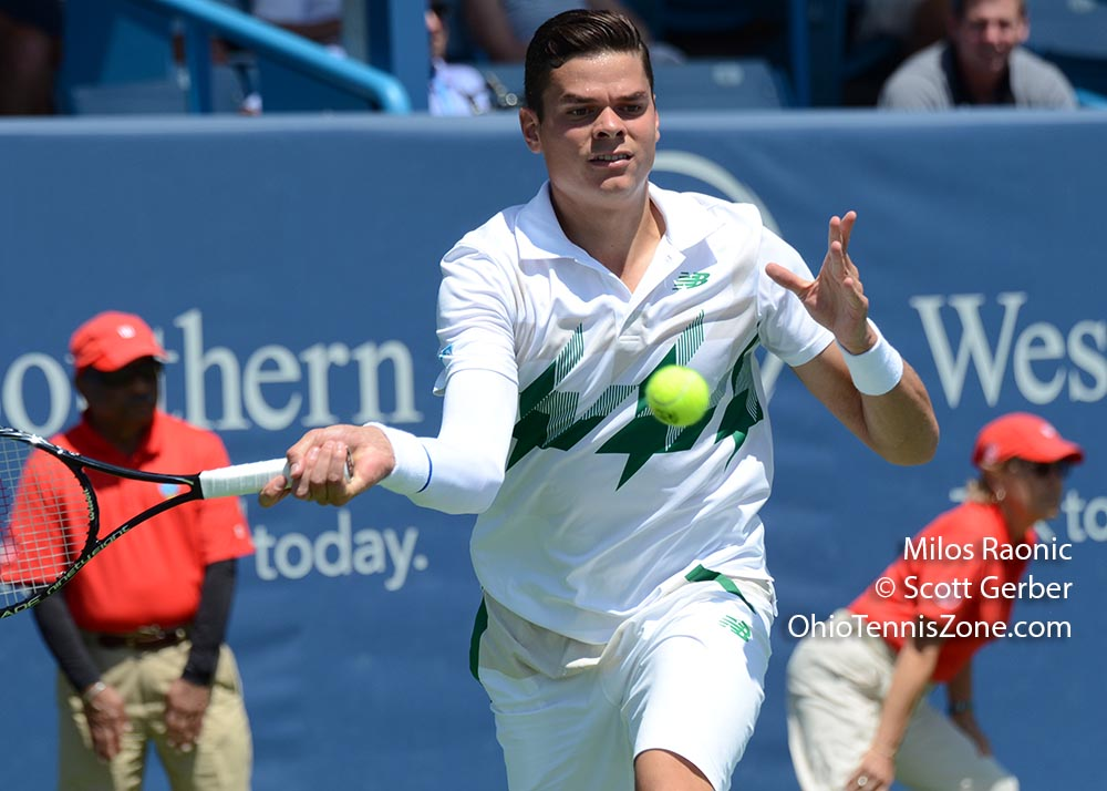 Milos Raonic at the W&S Open